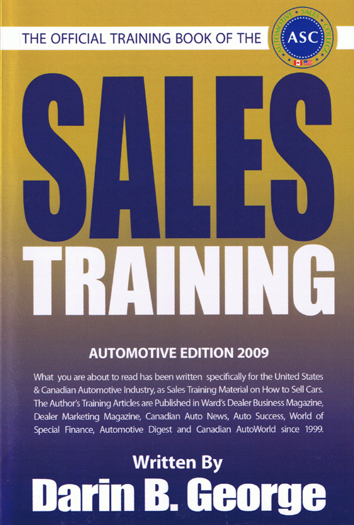 Automotive Sales College - Sales Training Book