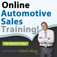 Automotive Sales College - Auto Sales Training Course